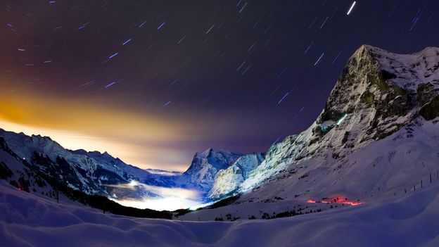 Eiger's notorious North Face (Credit: AFP/Getty Images)