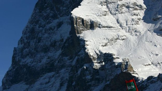 Skiing past the Eiger (Credit: Getty Images)