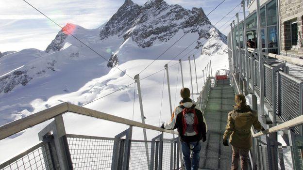 Jungfraujoch observator (Credit: AFP/Getty Images)
