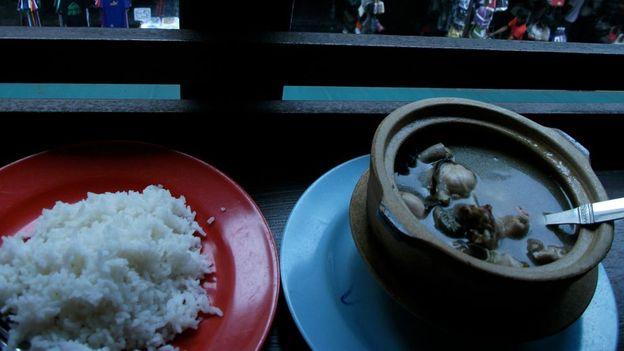 Frog soup, Kuala Lumpur (Credit: Gina Dowd)