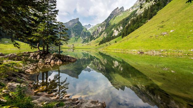 Appenzell reflections (Credit: Phil/Getty)