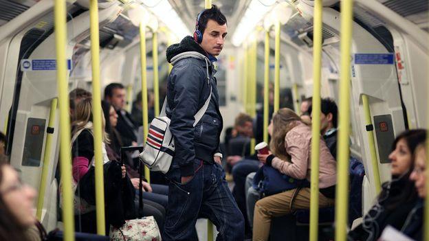 No talking on the Tube (Credit: Dan Kitwood/Getty)