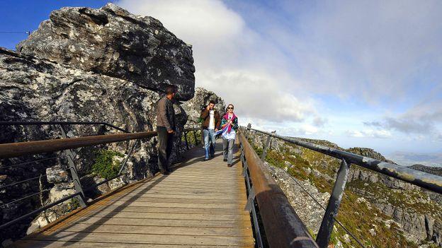 Cape Town's Table Mountain (Credit: Gianluigi Guercia/AFP/Getty)