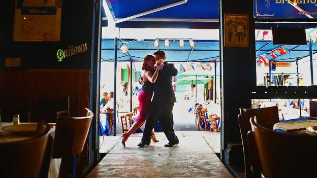 That Buenos Aires tango (Credit: Alexander Hassenstein/Getty)
