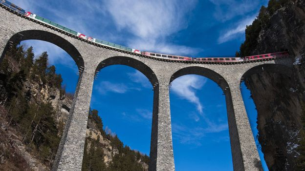 The dramatic Landwasser Viaduct (Credit: Emilie Chaix/Getty)