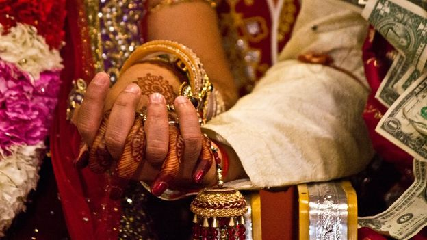 Wedding etiquette (Credit: Anand Purohit/Getty)