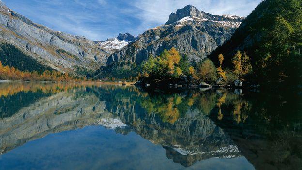 Lake Derborence (Credit: Christof Sonderegger/Switzerland Tourism)