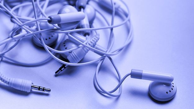 Why do earphone cords always get tangled? Physics