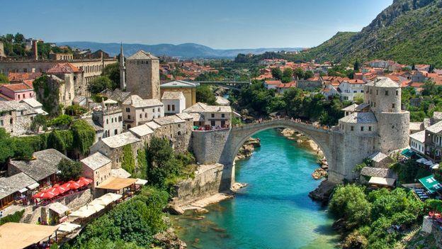 A view of Mostar (Credit: Lassi Kurkijarvi)