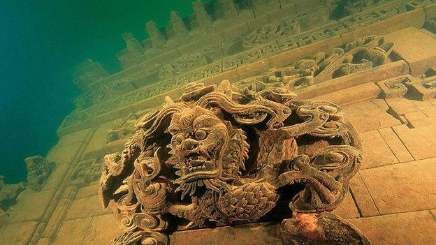 Underwater city (Credit: Chinese National Geography)