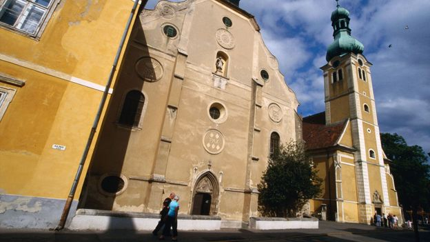 The 15th-century Church of St James in Kőszeg, Hungary (Credit: Martin Moos/LPI/Getty)