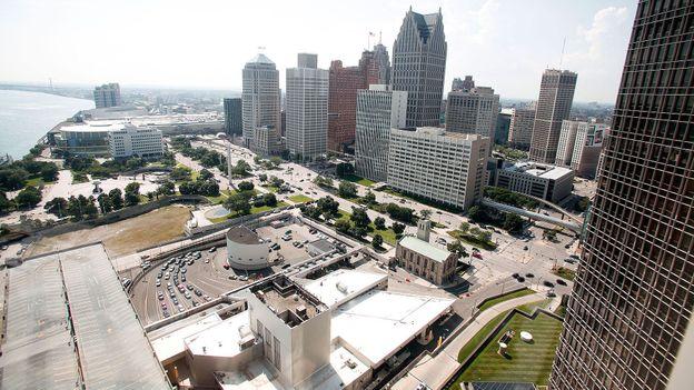 Downtown Detroit (Credit: Bill Pugliano/Getty)