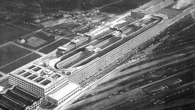A racetrack in the sky (Credit: Fiat Group)
