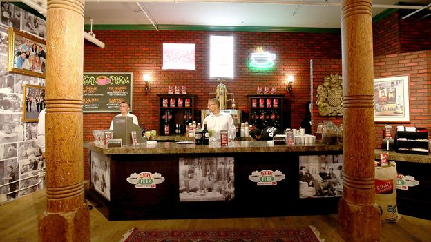 The Central Perk pop-up (Credit: Paul Zimmerman/Getty)