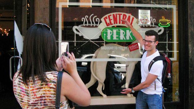 The Central Perk pop-up (Credit: Don Emmert/AFP/Getty)