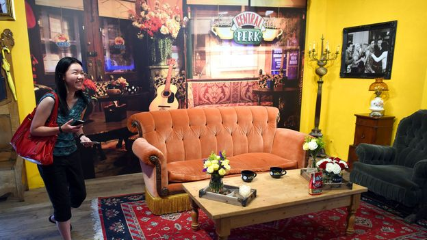 The Central Perk pop-up (Credit: Timothy A Clary/AFP/Getty)