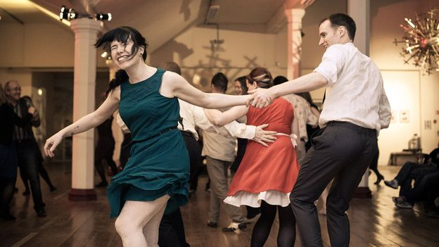 Lindy hopping at the Cork Jazz Dance Exchange (Credit: Andrew Miller)