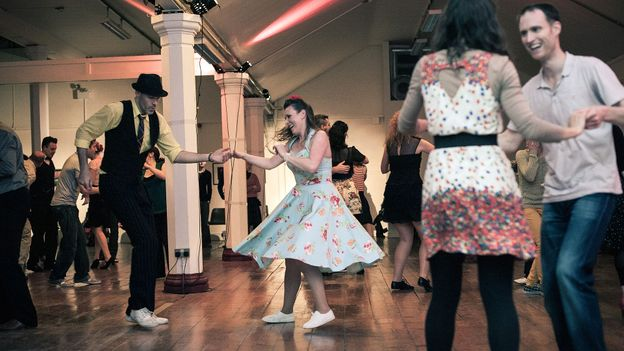 Dancing the night away (Credit: Andrew Miller)