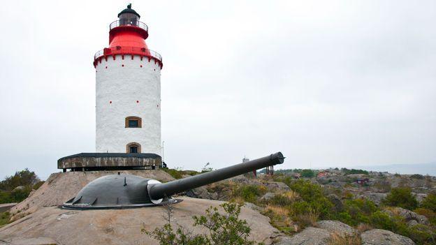 The Landsort Lighthouse (Credit: Amanda Ruggeri)