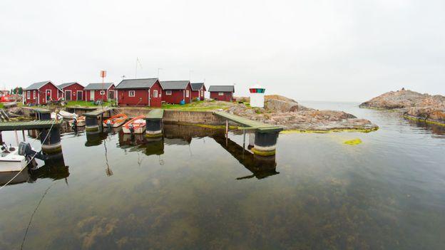 Öja's harbour (Credit: Amanda Ruggeri)