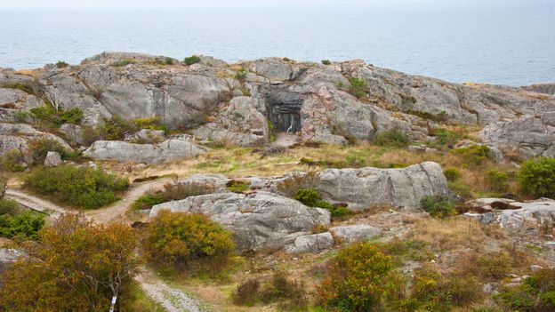 The Landsort Lighthouse bunker (Credit: Amanda Ruggeri)