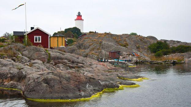 A view of the Landsort Lighthouse (Credit: Amanda Ruggeri)