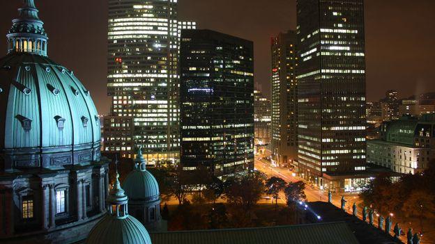 Montreal after dark (Credit: Sven Klaschik/Getty)