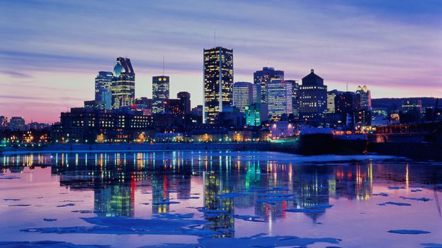 Montreal at dusk (Credit: Yves Marcoux/Getty)
