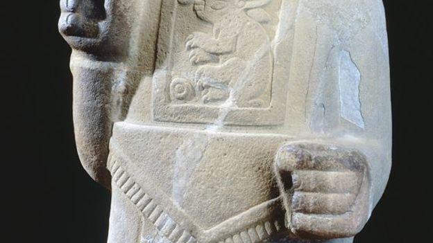 God of pulque statue, 10th Century (Credit: DeAgostini/Getty)