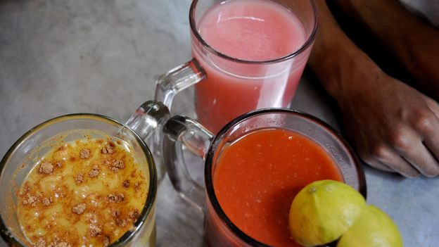 Oatmeal, guava and tomato pulque (Credit: katebordner/Flickr/Creative Commons)