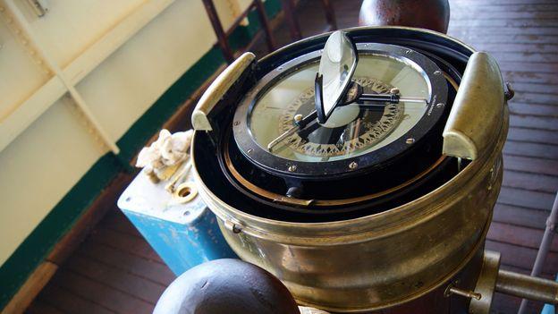 The Umoja's navivation compass (Credit: Henry Wismayer)