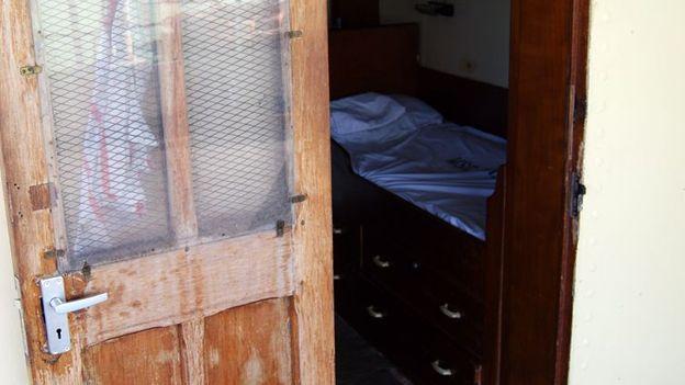Umoja captain's cabin (Credit: Henry Wismayer)