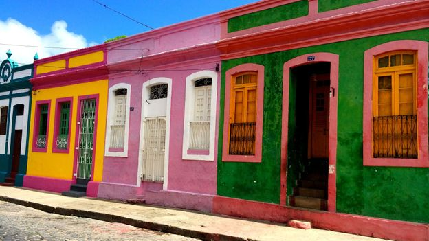 The many shades of Olinda, Brazil (Credit: Valerie Conners)