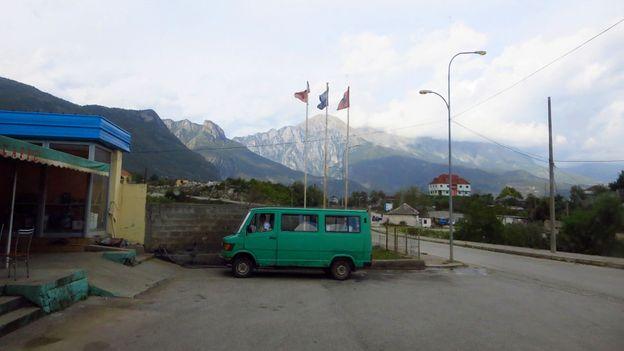 On the road to Valbonë (Credit: Adam H Graham)