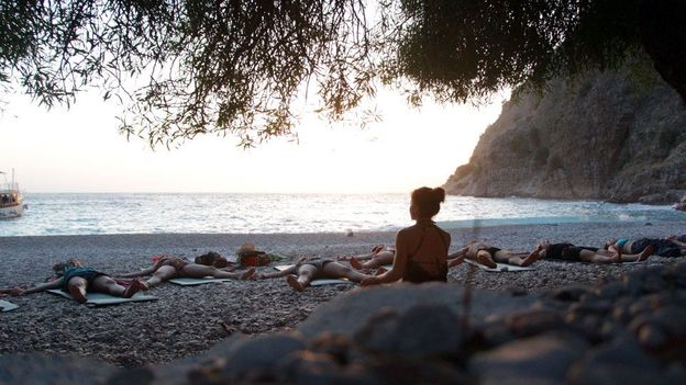 Sunrise yoga sessions (Credit: Brad Cohen)
