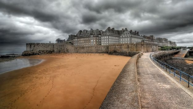 Storm clouds over Saint-Malo (Credit: Philippe Manguin/Getty)