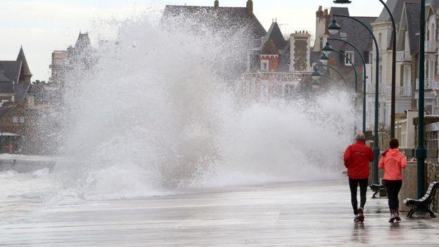 The big splash (Credit: Damien Meyer/Getty)