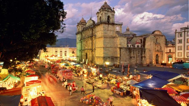 Night of the Radishes in Oaxaca (Credit: Robert Frerck/Getty)