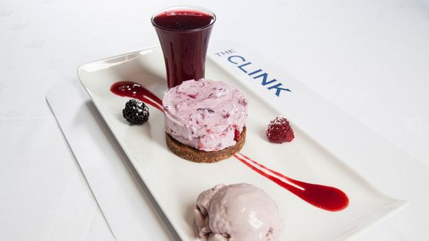 A Michelin-style presentation (Credit: The Clink Charity)