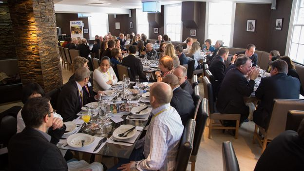 A full dining room in Brixton (Credit: The Clink Charity)