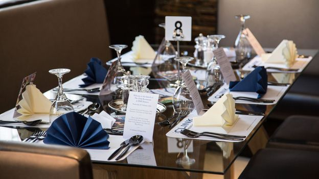 Place settings in Brixton (Credit: The Clink Charity)