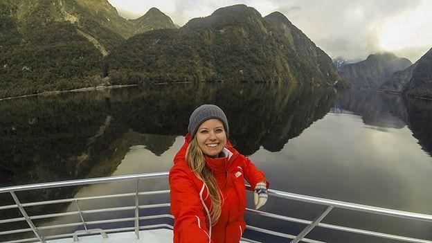 Doubtful Sound in Fiordland, New Zealand (Credit: Liz Carlson)