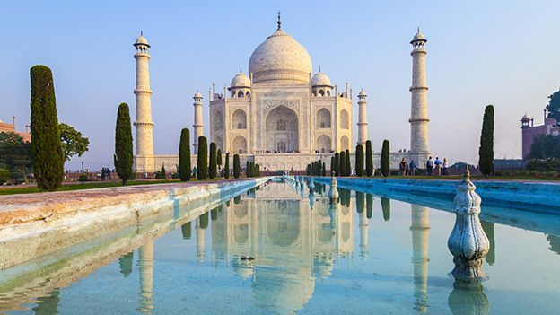 India's majestic Taj Mahal (Credit: Thinkstock)
