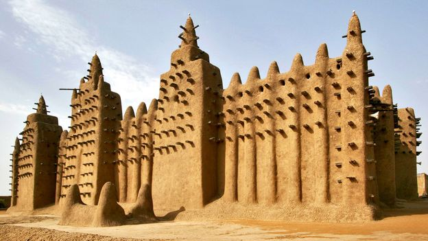 Mali's Great Mosque of Djenne (Credit: Francois Xavier Marit/Getty)