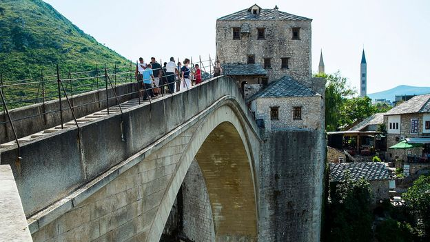 Bosnia's Stari Most (Credit: Marco Secchi/Getty)