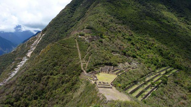 A view of Choquequirao (Credit: Cynthia Kane)