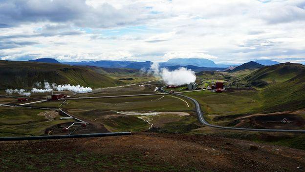 The Krafla Power Plant, Iceland's largest (Credit: Anita Isalska)