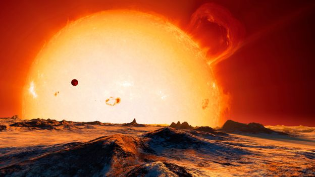 Once the Sun gets like this, it`s game over (Credit: Detlev van Ravenswaay/SPL)