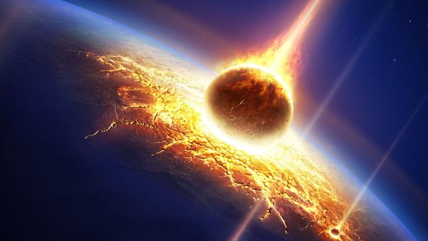 An asteroid impact would wipe out many species (Credit: Johan Swanepoel/Alamy)
