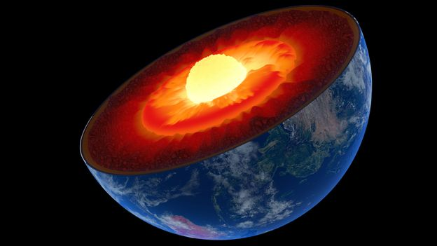 Earth`s core would solidify given enough time (Credit: Johan Swanepoel/Alamy)